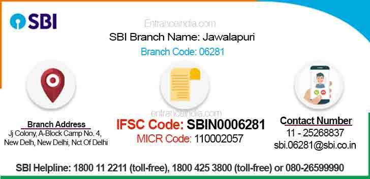 IFSC Code for SBI Jawalapuri Branch