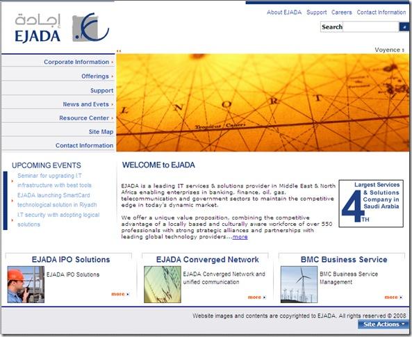 EJADA Web Site