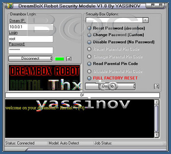 DreamBox Robot Security Module v1.0 by yassinov