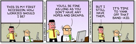 dilbert recession