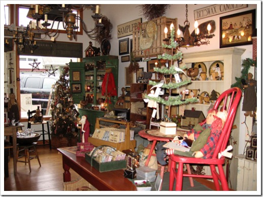 Christmas Shop in Snohomish