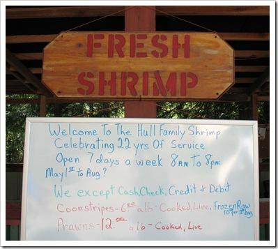 Fresh Shrimp Hull Family