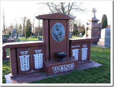 Wong grave