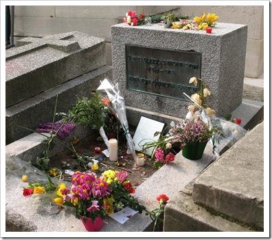 Pere Lachaise Jim Morrison