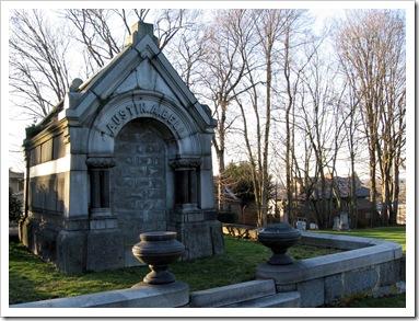 Austin A Bell grave